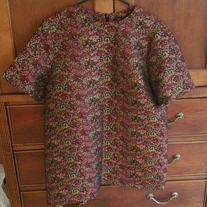 Zara Floral Shift Dress/Tunic